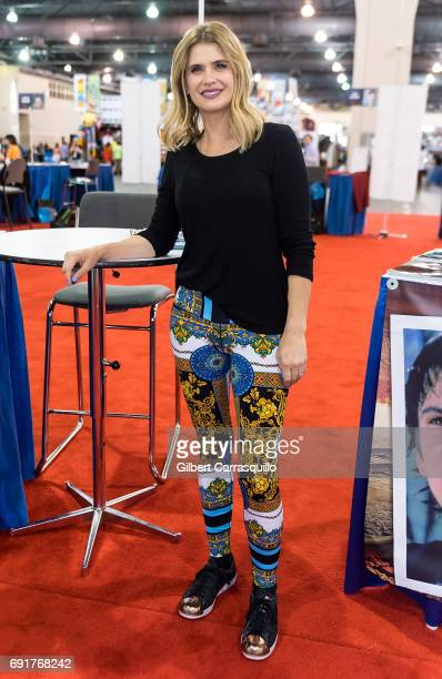 Actress Kristy Swanson attends Wizard World Comic Con Philadelphia 2017 Day 2 at Pennsylvania Convention Center on June 2 2017 in Philadelphia...