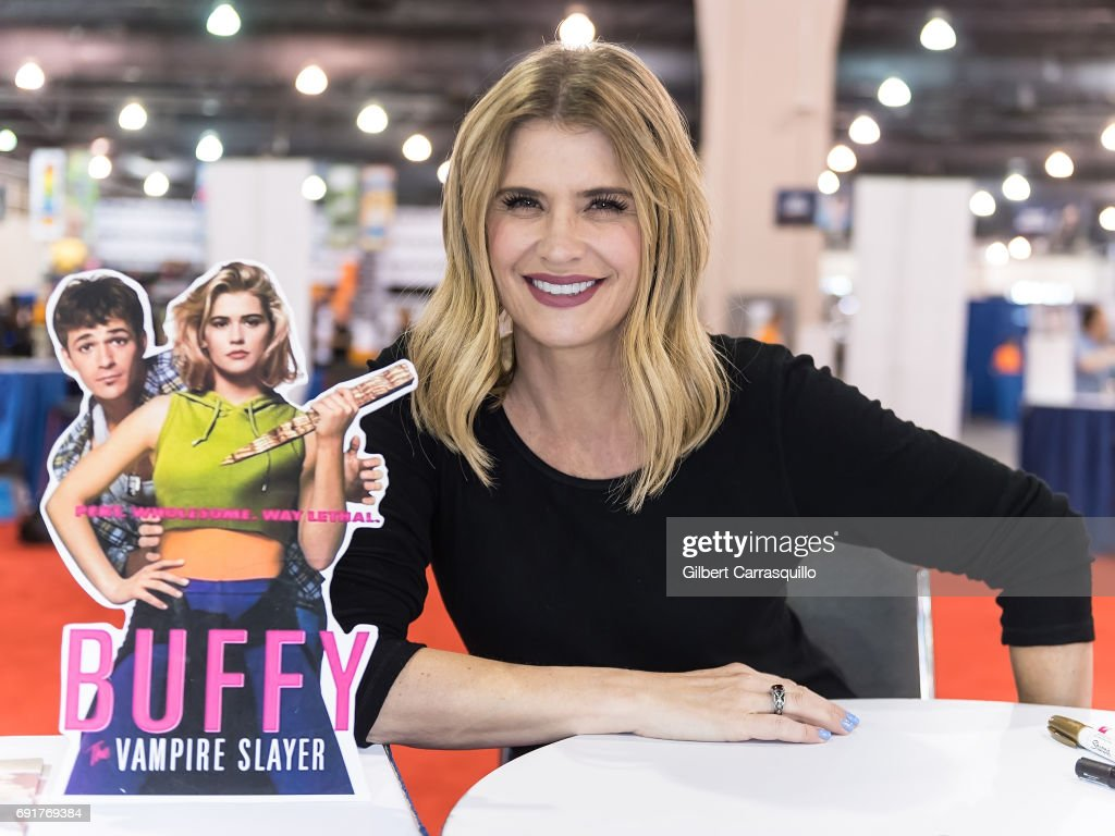 Actress Kristy Swanson attends Wizard World Comic Con Philadelphia 2017 - Day 2 at Pennsylvania Convention Center on June 2, 2017 in Philadelphia, Pennsylvania.