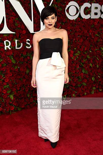 Actress Krysta Rodriguez attends 70th Annual Tony Awards Arrivals at Beacon Theatre on June 12 2016 in New York City