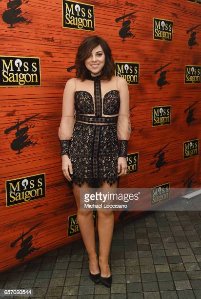 Actress Krysta Rodriguez attends the opening night of Miss Saigon Broadway at the Broadway Theatre on March 23 2017 in New York City