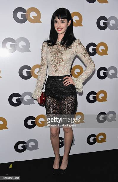 Actress Krysten Ritter arrives at the GQ Men of the Year Party at Chateau Marmont on November 13 2012 in Los Angeles California