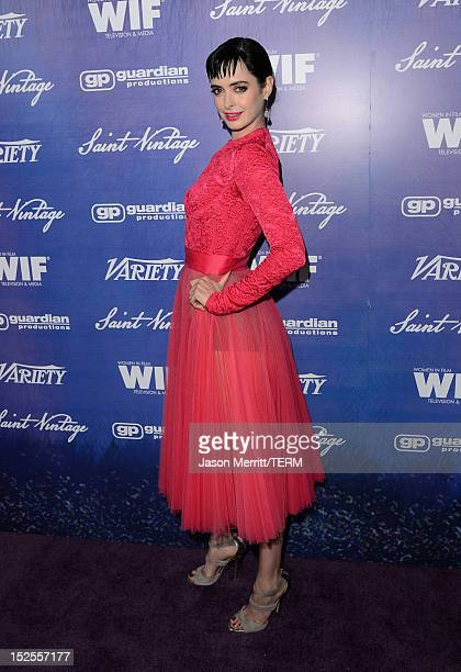 Actress Krysten Ritter arrives at Variety and Women in Film PreEMMY Event presented by Saint Vintage at Scarpetta Beverly Hills on September 21 2012...