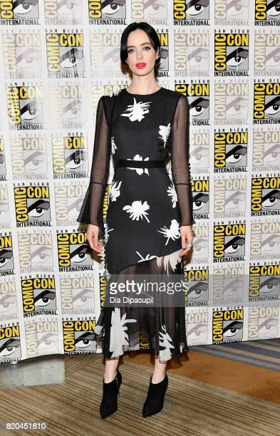 Actress Krysten Ritter at Marvel's 'The Defenders' Press Line during ComicCon International 2017 at Hilton Bayfront on July 21 2017 in San Diego...
