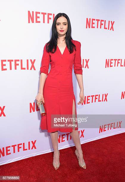 Actress Krysten Ritter attends a For Your Consideration screening and QA for the Netflix Original Series' 'Marvel's Jessica Jones' at Paramount...