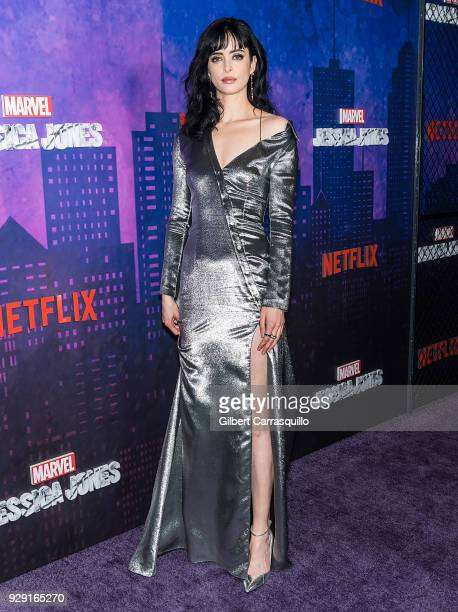 Actress Krysten Ritter attends Netflix's 'Marvel's Jessica Jones' Season 2 Premiere at AMC Loews Lincoln Square on March 7 2018 in New York City