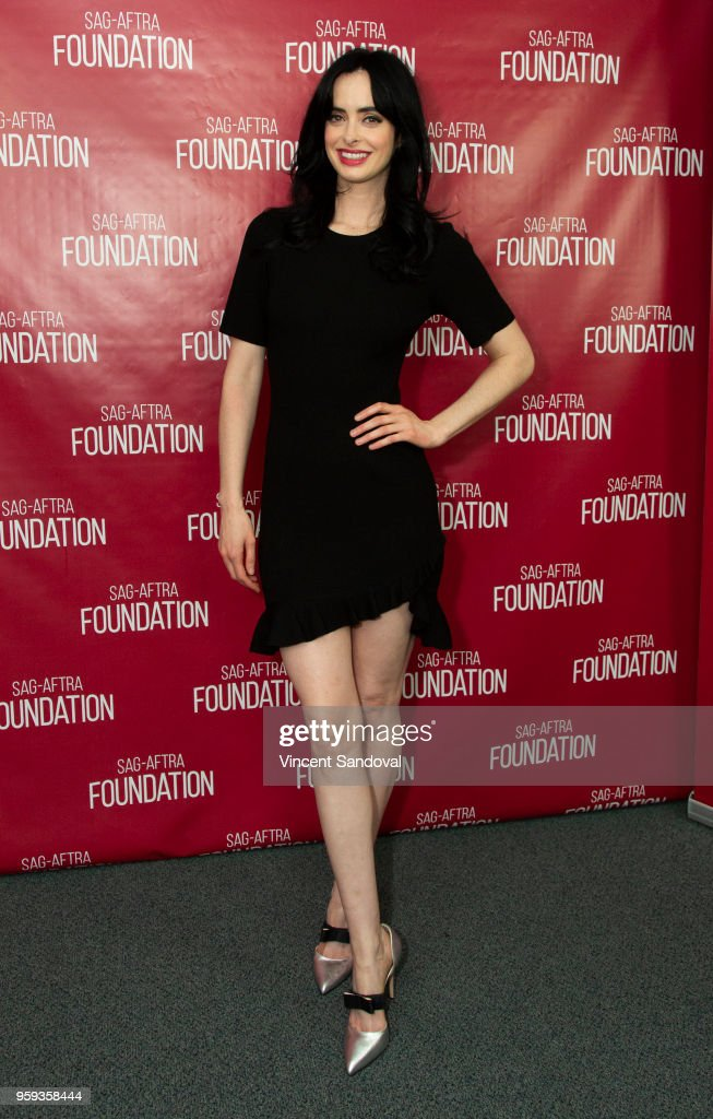 Actress Krysten Ritter attends SAG-AFTRA Foundation Conversations screening of 'Jessica Jones' at SAG-AFTRA Foundation Screening Room on May 16, 2018 in Los Angeles, California.