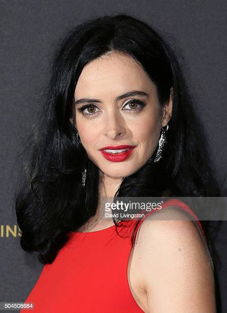Actress Krysten Ritter attends the 2016 Weinstein Company and Netflix Golden Globes after party on January 10 2016 in Los Angeles California