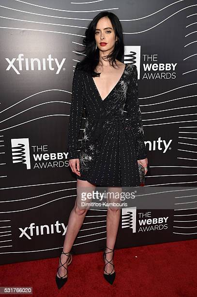 Actress Krysten Ritter attends the 20th Annual Webby Awards at Cipriani Wall Street on May 16 2016 in New York City