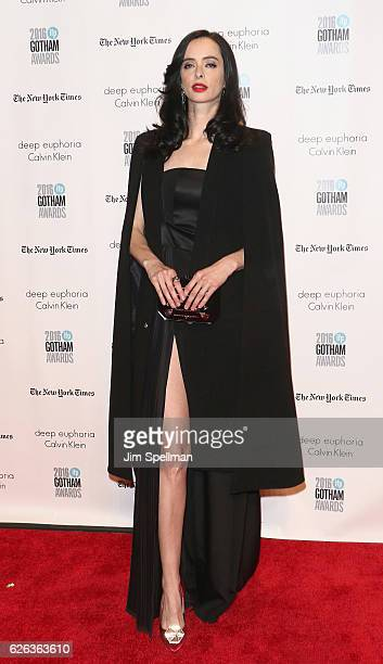 Actress Krysten Ritter attends the 26th Annual Gotham Independent Film Awards at Cipriani Wall Street on November 28 2016 in New York City