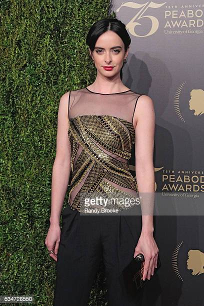 Actress Krysten Ritter attends the 75th Annual Peabody Awards Ceremony at Cipriani Wall Street on May 21 2016 in New York City