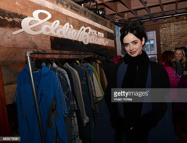 Actress Krysten Ritter attends The Eddie Bauer Adventure House Day 2 2014 Park City on January 18 2014 in Park City Utah