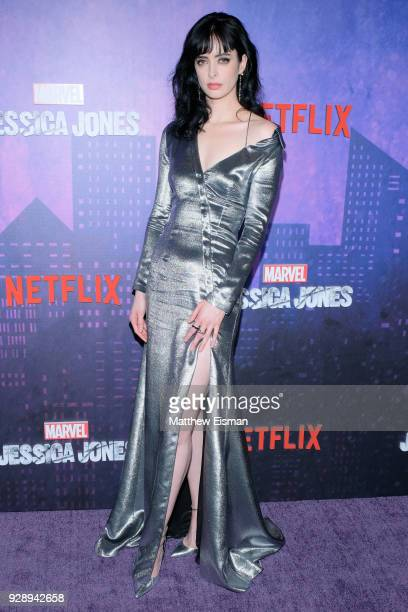 Actress Krysten Ritter attends the 'Jessica Jones' Season 2 New York Premiere at AMC Loews Lincoln Square on March 7 2018 in New York City