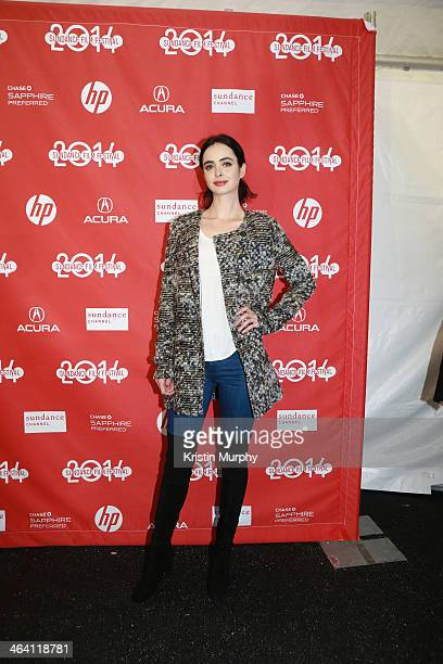 Actress Krysten Ritter attends the 'Listen Up Philip' Premiere during the 2014 Sundance Film Festival at Library Center Theater on January 20 2014 in...
