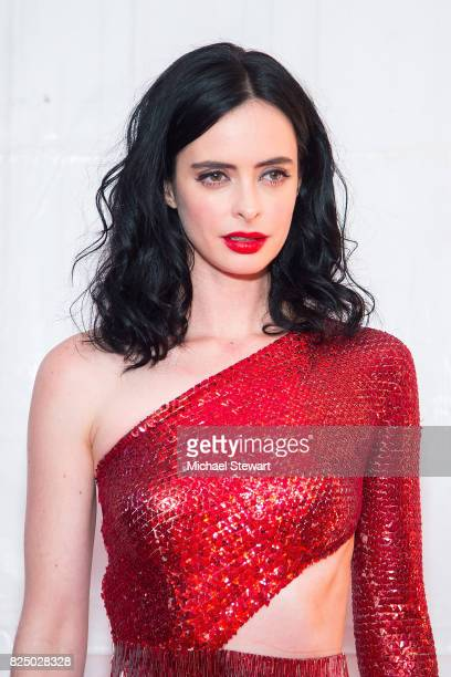 Actress Krysten Ritter attends the 'Marvel's The Defenders' New York premiere at Tribeca Performing Arts Center on July 31 2017 in New York City