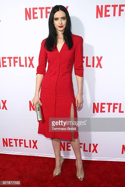 Actress Krysten Ritter attends the Netflix original series' 'Marvel's Jessica Jones' FYC screening and QA at Paramount Studios on May 3 2016 in...