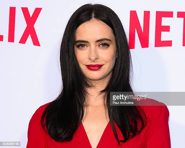 """Actress Krysten Ritter attends the Netflix original series' """"Marvel's Jessica Jones"""" FYC screening and Q&A at Paramount Studios on May 3, 2016 in..."""