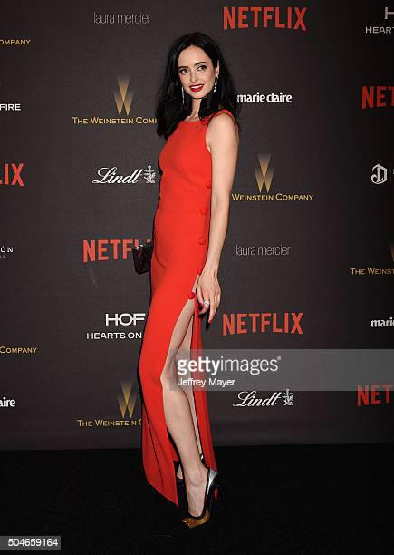 Actress Krysten Ritter attends The Weinstein Company and Netflix Golden Globe Party presented with DeLeon Tequila Laura Mercier Lindt Chocolate Marie...