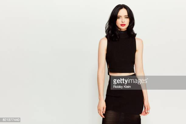 Actress Krysten Ritter from Netflix's ' Jessica Jones' poses for a portrait during ComicCon 2017 at Hard Rock Hotel San Diego on July 21 2017 in San...