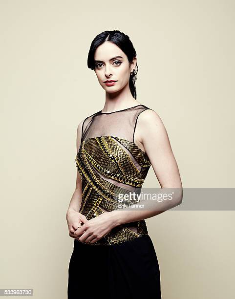Actress Krysten Ritter poses for a portrait at the 75th Annual Peabody Awards Ceremony at Cipriani Wall Street on May 21 2016 in New York City