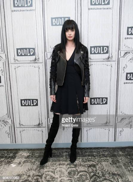 Actress Krysten Ritter visits Build Series to discuss 'Jessica Jones' at Build Studio on March 6 2018 in New York City