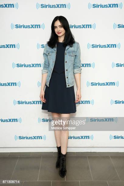 Actress Krysten Ritter visits SiriusXM Studios on November 7 2017 in New York City