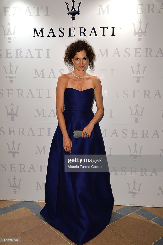 Actress Ksenia Rappoport attends the 70th Venice International Film Festival at Terrazza Maserati on August 28, 2013 in Venice, Italy.