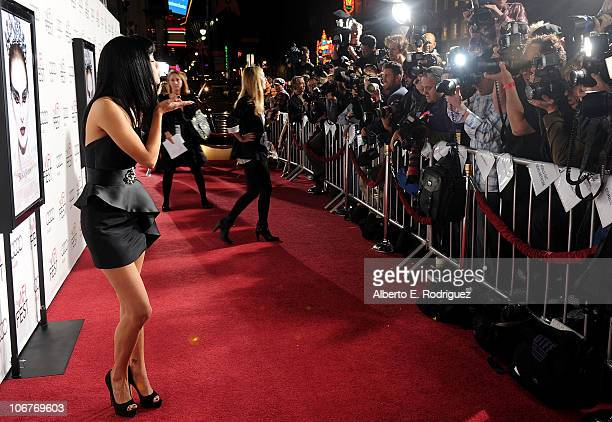 Actress Ksenia Solo arrives at the Black Swan closing night gala during AFI FEST 2010 presented by Audi held at Grauman's Chinese Theatre on November...