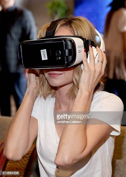 Actress Ksenia Solo attends The Samsung Studio at SXSW 2016 on March 11 2016 in Austin Texas