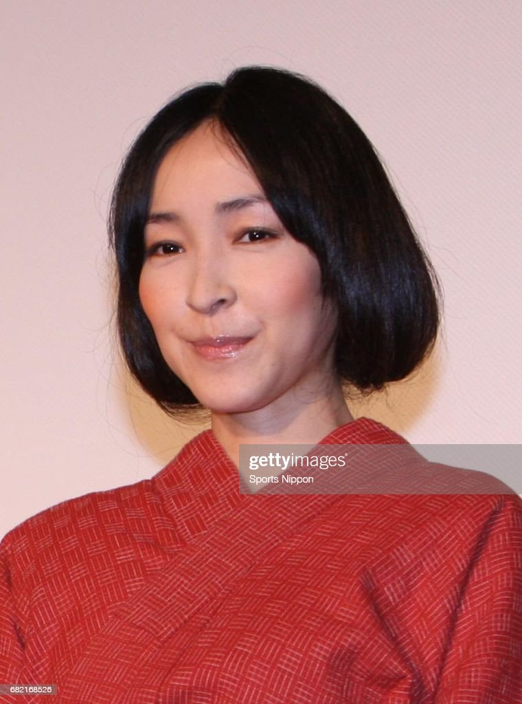 Kumiko Aso Attends Opening Day Stage Greeting In Tokyo : News Photo