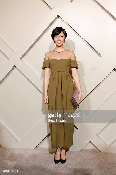Actress Kwai LunMei attends the Burberry brings London to Shanghai event on April 24 2014 in Shanghai China