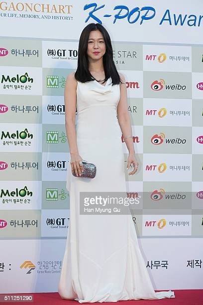 Actress Kyeong Su-Jin attends the 5th Gaon Chart K-Pop Awards on February 17, 2016 in Seoul, South Korea.