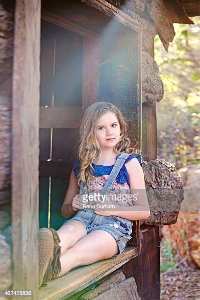 Actress Kyla Kenedy is photographed for LVLten Magazine on March 31 2014 in Los Angeles California