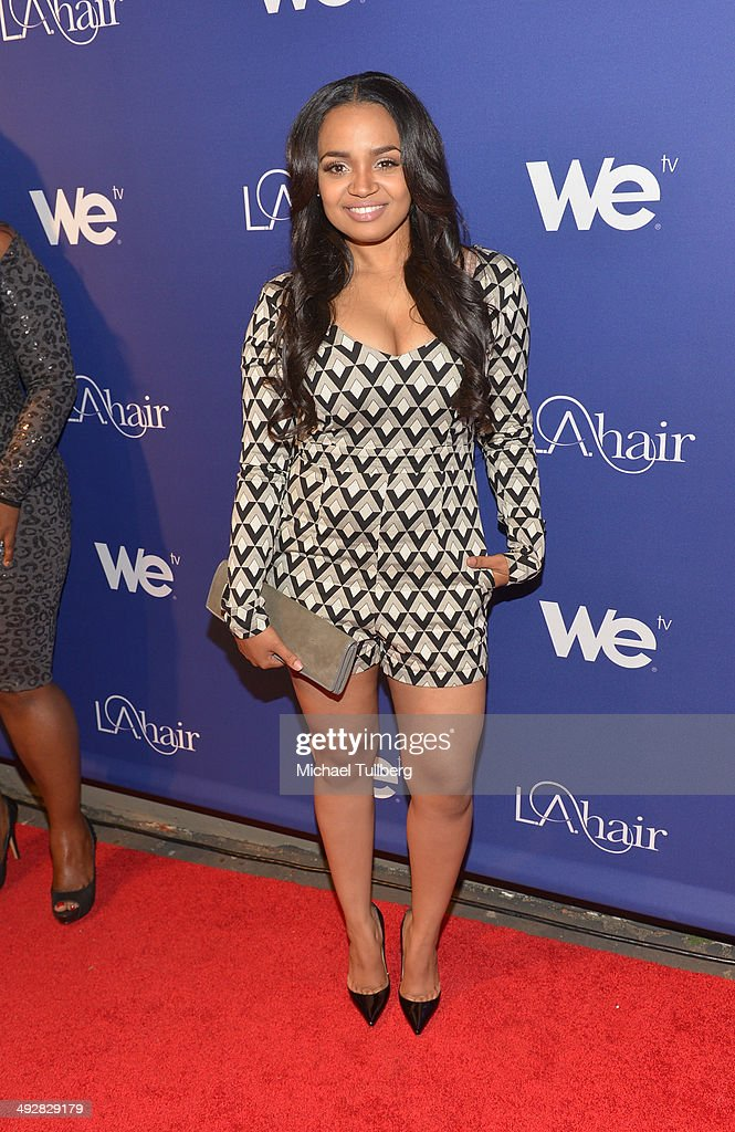 Actress Kyla Pratt attends the premiere event for Season 3 of LA tv's 'L.A. Hair' show at Kimble Hair Studio and Extension Bar on May 21, 2014 in Los Angeles, California.
