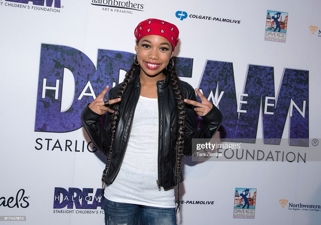 Actress Kyla-Drew Simmons attends Starlight's Dream Halloween 2016 on October 22, 2016 in Los Angeles, California.
