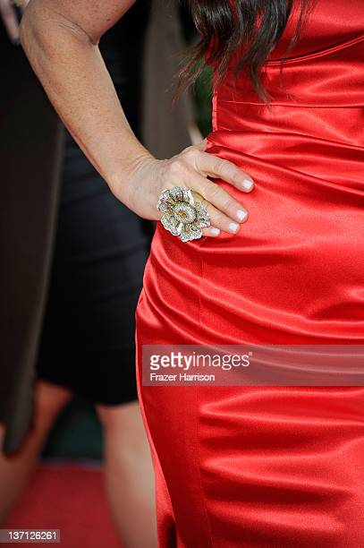 Actress Kyle Richards arrives at the 69th Annual Golden Globe Awards held at the Beverly Hilton Hotel on January 15 2012 in Beverly Hills California
