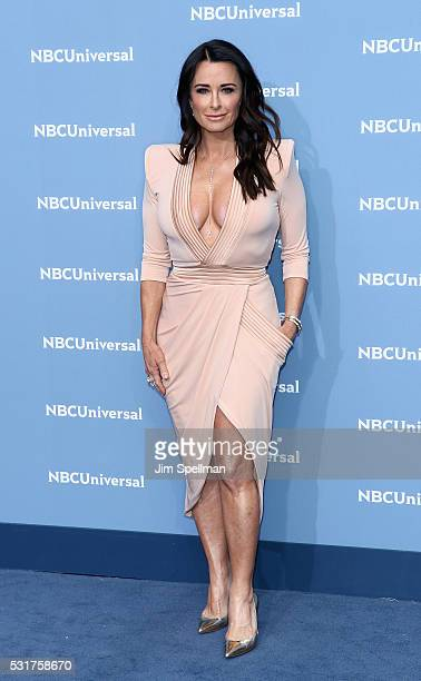 Actress Kyle Richards attends the 2016 NBCUNIVERSAL Upfront at Radio City Music Hall on May 16 2016 in New York City