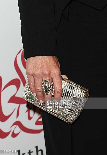 Actress Kyle Richards attends the 5th Annual Rock The Kasbah Gala in Support of Virgin Unite and The Eve Branson Foundation at Boulevard3 on November...