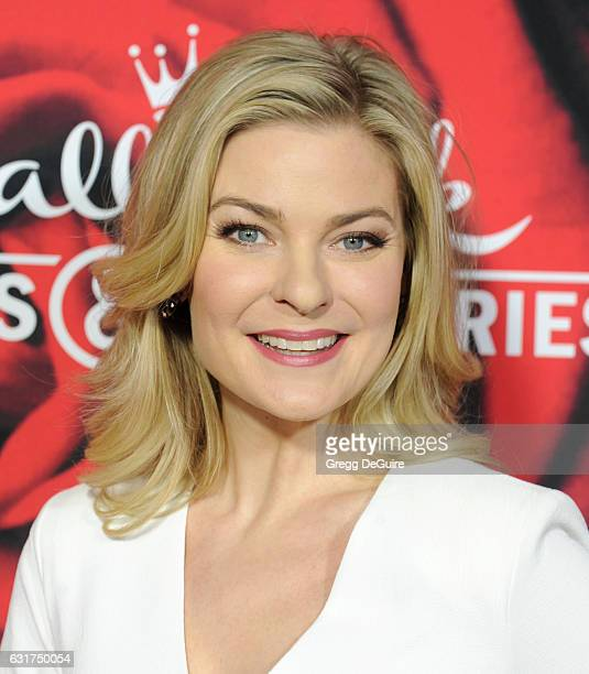 Actress Kylee Evans arrives at Hallmark Channel And Hallmark Movies And Mysteries Winter 2017 TCA Press Tour at The Tournament House on January 14...