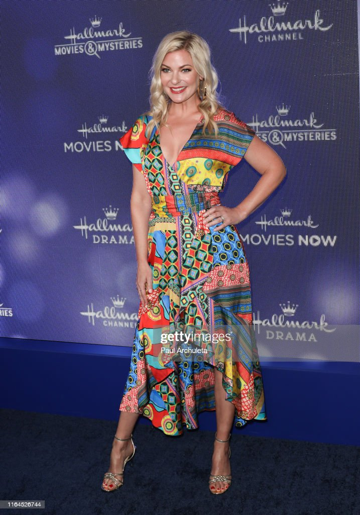 Actress Kylee Evans attends the Hallmark Channel and