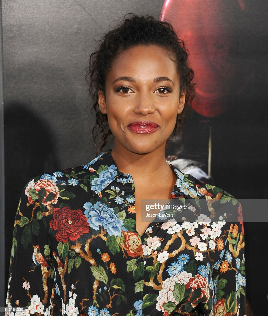 Actress Kylie Bunbury attends the premiere of 'It' at TCL Chinese Theatre on September 5, 2017 in Hollywood, California.