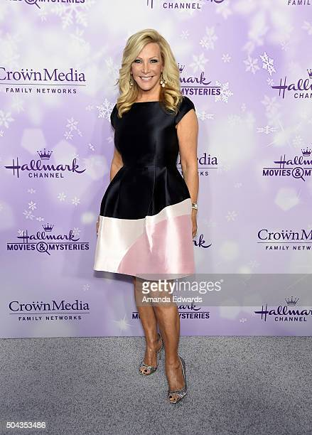 Actress Kym Douglas arrives at the Hallmark Channel and Hallmark Movies and Mysteries Winter 2016 TCA Press Tour at Tournament House on January 8...