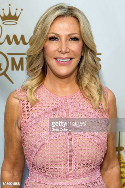 Actress Kym Douglas arrives for the 2017 Summer TCA Tour Hallmark Channel And Hallmark Movies And Mysteries on July 27 2017 in Beverly Hills...