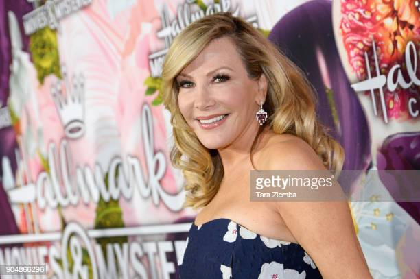 Actress Kym Douglas attends ttends Hallmark Channel and Hallmark Movies and Mysteries Winter 2018 TCA Press Tour at Tournament House on January 13...