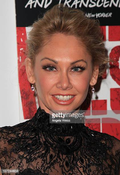 Actress Kym Johnson attends the opening night of 'West Side Story' at the Pantages Theatre on December 1 2010 in Hollywood California