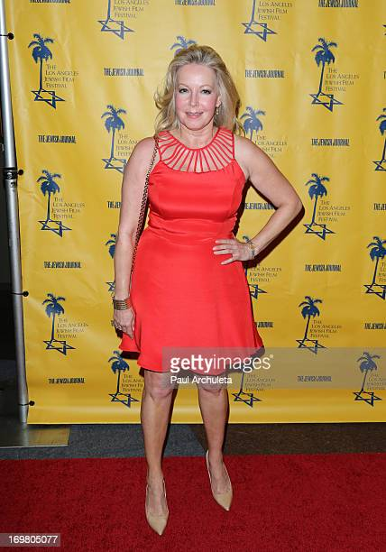 Actress Kym Karath attends the 8th annual Los Angels Jewish Film Festival opening night gala at the Writers Guild Theater on June 1 2013 in Beverly...