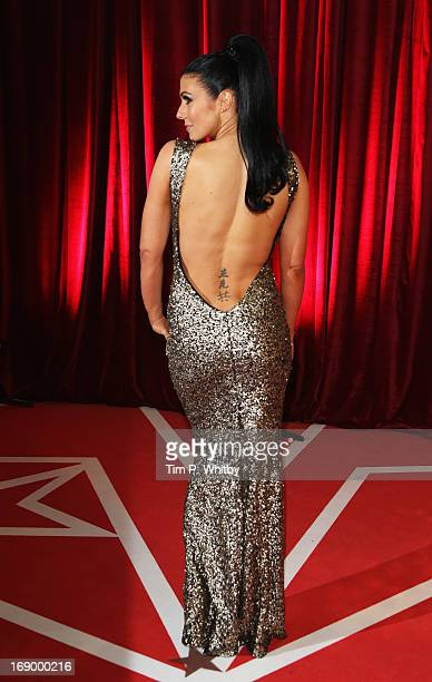 Actress Kym Lomas attends the British Soap Awards at Media City on May 18 2013 in Manchester England