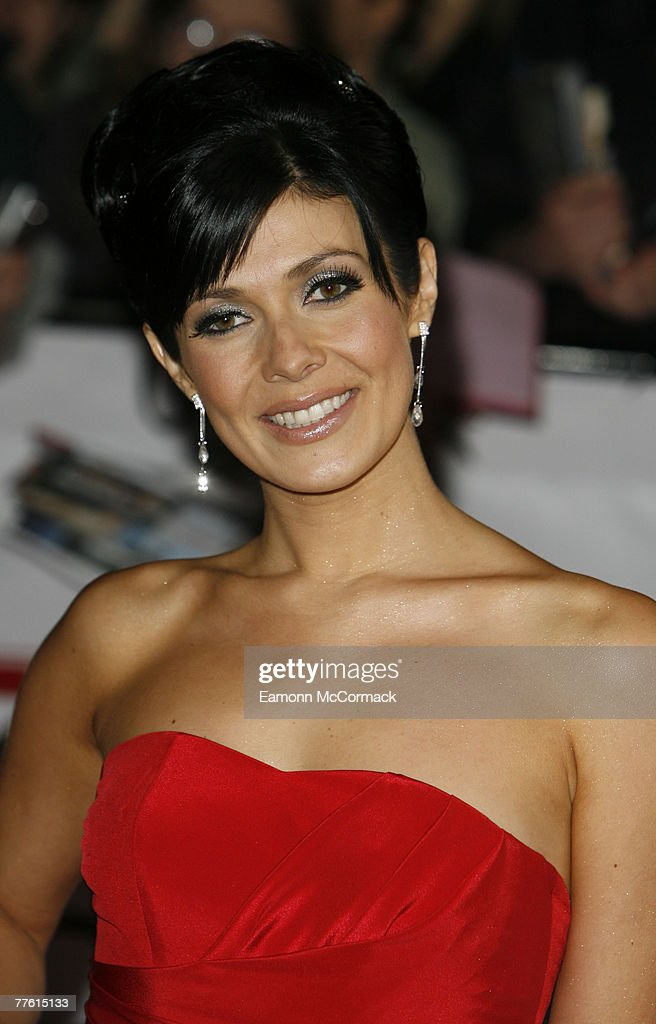 Actress Kym Ryder arrives for the National Television Awards at the Royal Albert Hall on 31 October 2007 in London England.