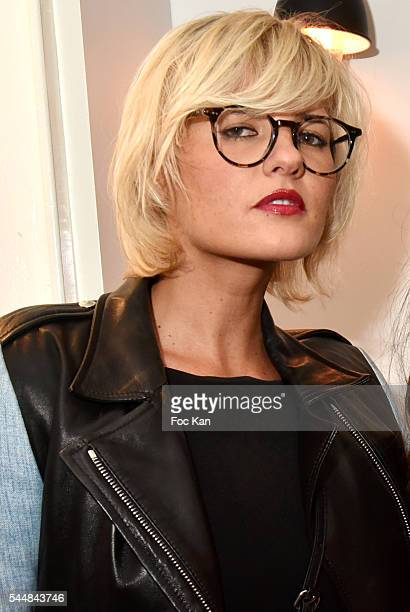 Actress Kym Thiriot attends the Upper Concept Store Launch Party on July 02 2016 in Paris France