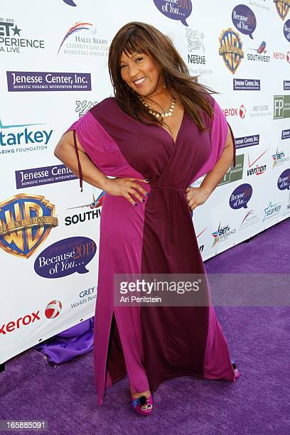 Actress Kym Whitley arrives at GREY GOOSE Hosts Silver Rose Awards Gala at Vibiana on April 6 2013 in Los Angeles California