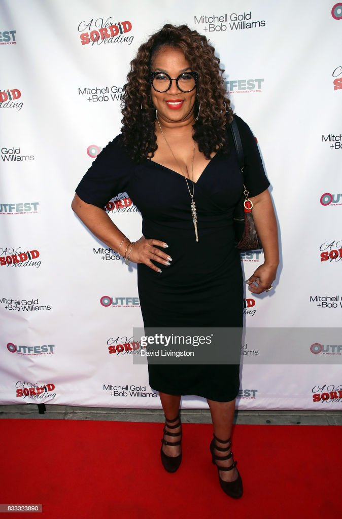 Actress Kym Whitley attends the premiere of Beard Collins Shores Productions' 'A Very Sordid Wedding' at Laemmle's Ahrya Fine Arts Theatre on August 16, 2017 in Beverly Hills, California.
